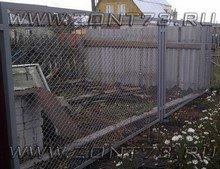 Забор из сетки секционный