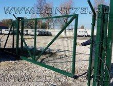 Ворота откатные 3D